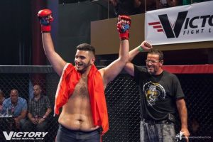 Mohamed et sifu marc win Victory mma 15