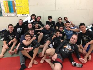 Brossard martial arts academy fight team