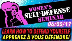 promo woman self-defense SEMINAIRE shopify